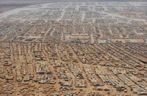 Zaatari Camp from above 2